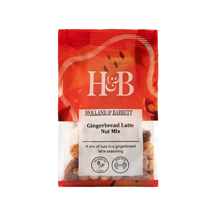 Holland & Barrett Gingerbread Nut Mix 150g
