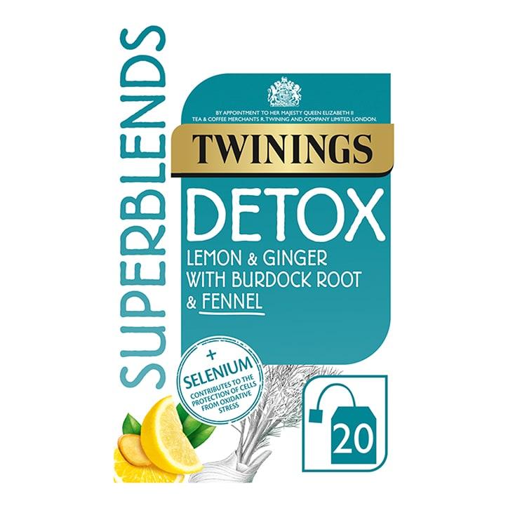 Twinings Superblends Detox 20 Tea Bags
