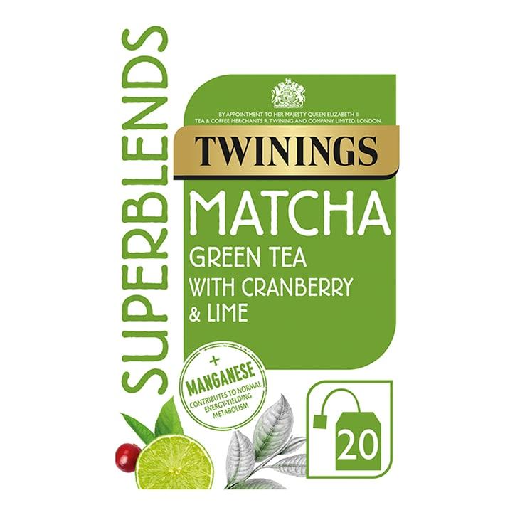 Twinings Superblends Matcha 20 Tea Bags