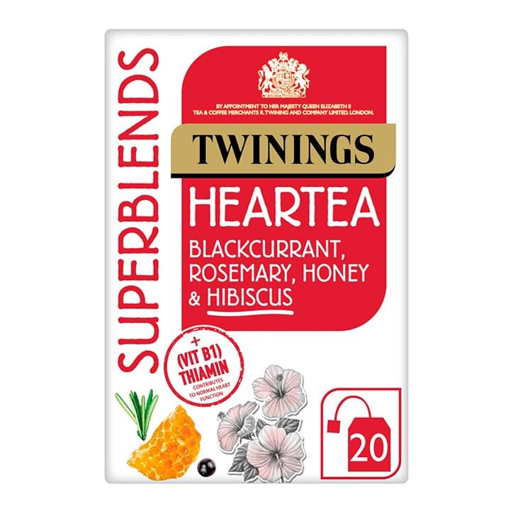 Twinings Superblends Heartea 20 Tea Bags