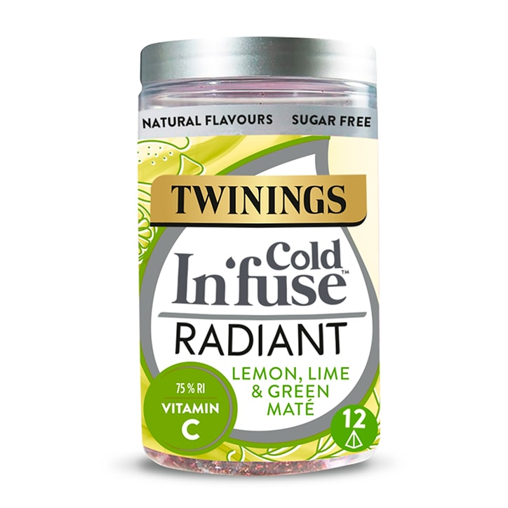 Twinings Cold In'Fuse Radiant with Vitamin C 12 Infusers