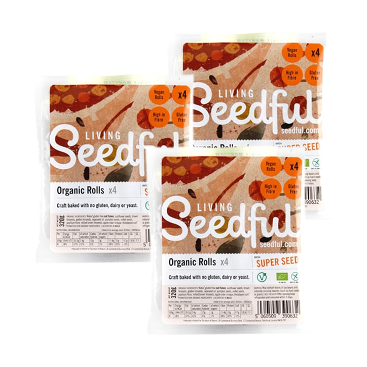 Seedful Organic Gluten Free Rolls