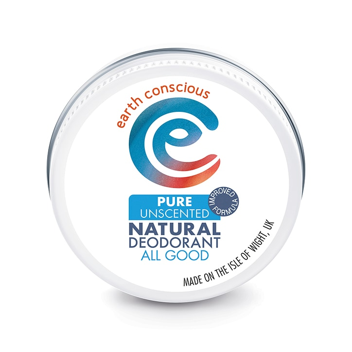Earth Conscious Natural Deodorant Balm - Pure Unscented