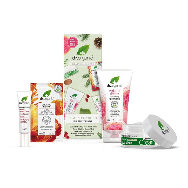 Dr Organic Face Favorites Bundle