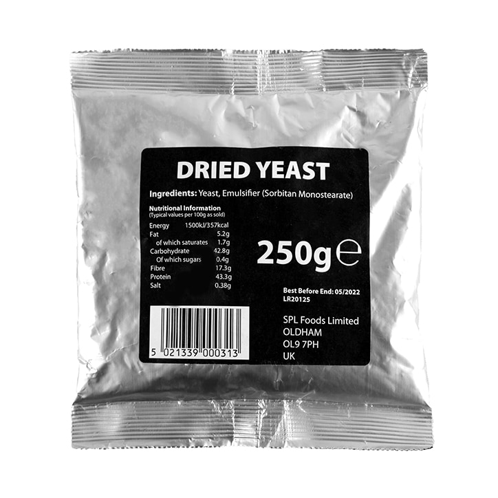 SPL Foods Dried Yeast 250g