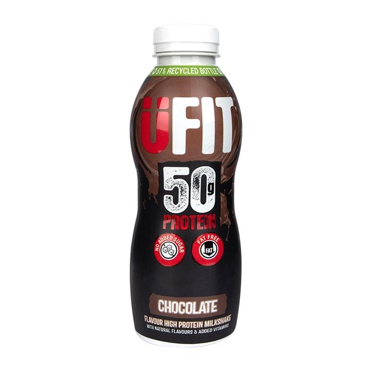 UFIT High 50g Protein Shake Chocolate 500ml