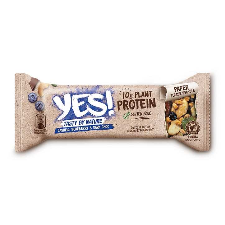 YES! Protein Cashew, Blueberry & Dark Choc 45g
