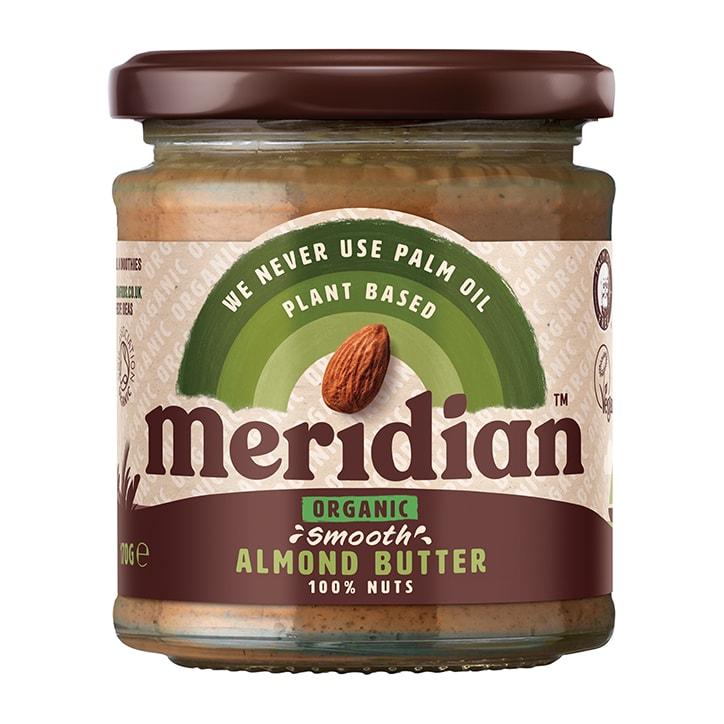 Meridian Organic Almond Butter 170g