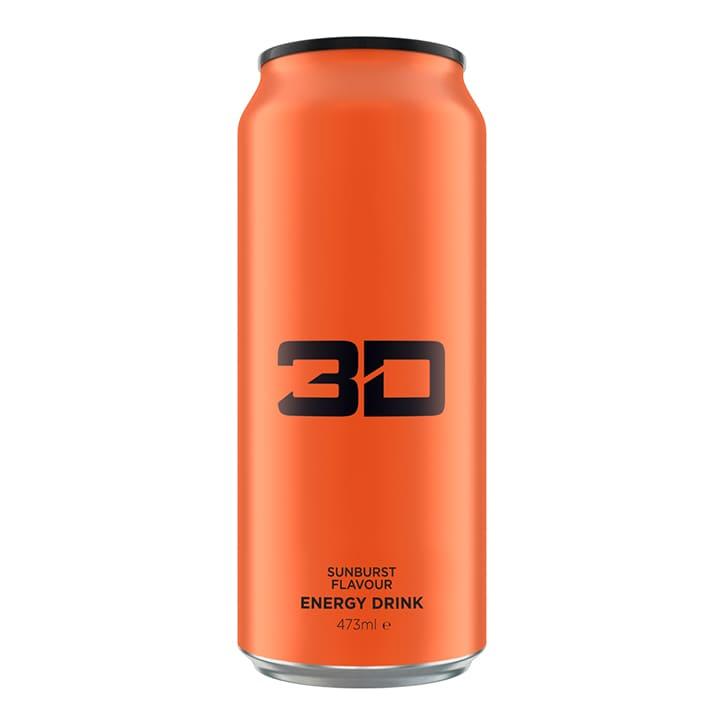 3D Energy Orange Sunburst  473ml