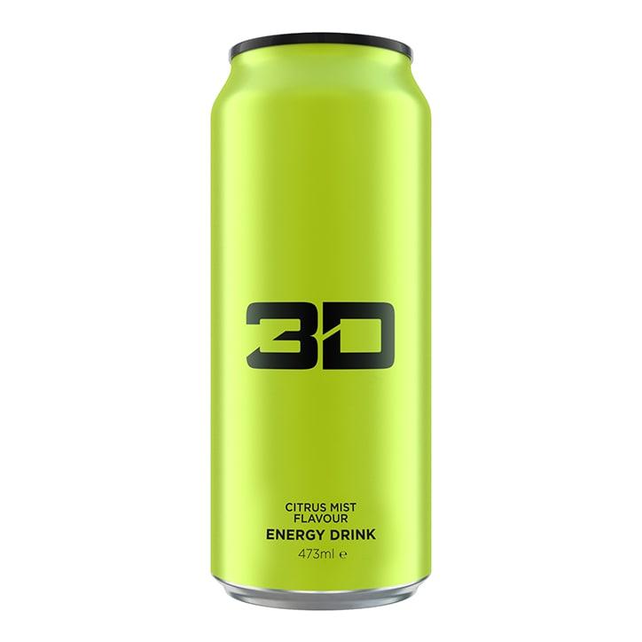 3D Energy Green Citrus Mist 473ml