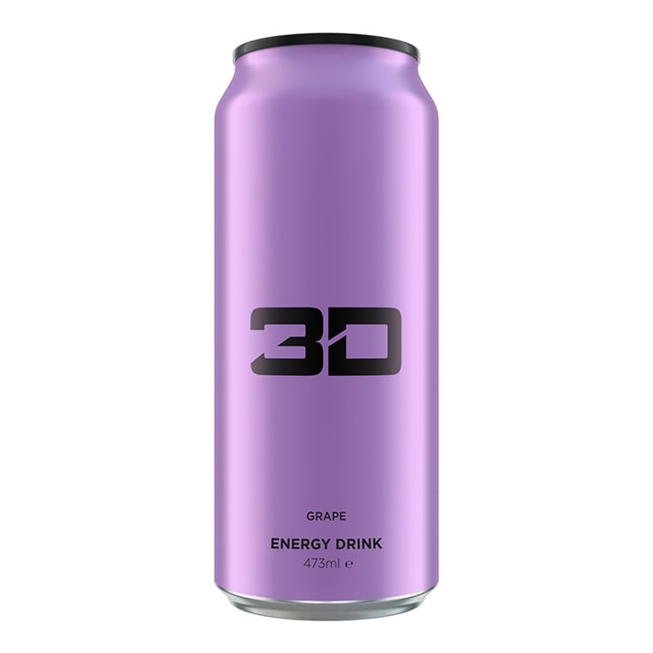 3D Energy Purple Grape 473ml