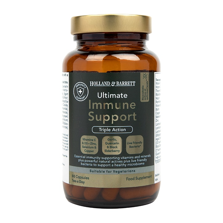 Holland & Barrett Ultimate Immune Support 60 Capsules