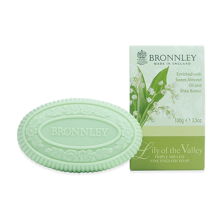 Bronnley Lily Of The Valley Soap Bar