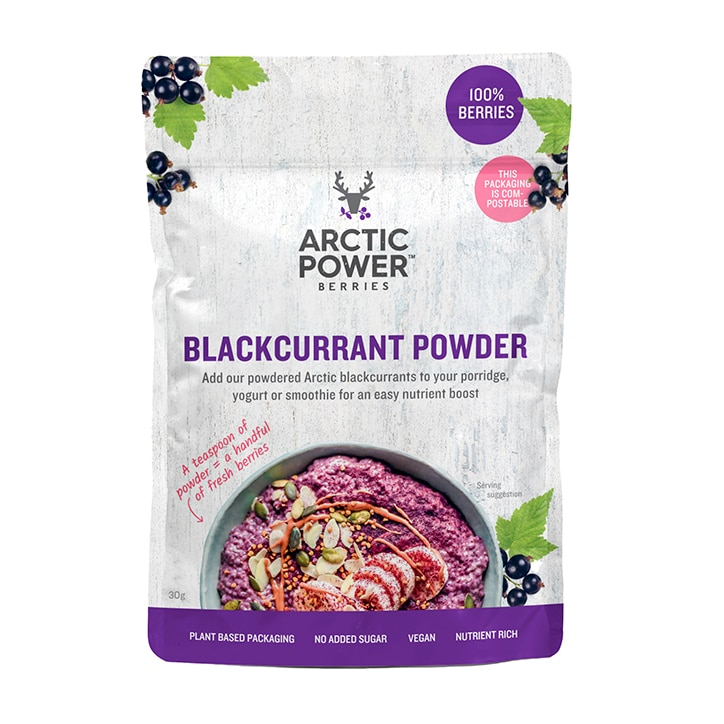 Arctic Power Berries 100% Blackcurrant Powder 30g