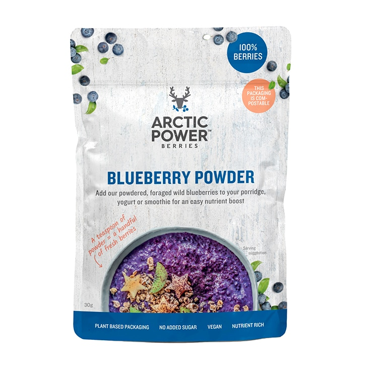 Arctic Power Berries 100% Blueberry Powder 30g