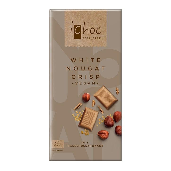Ichoc White Nougat CrispRice Chocolate 80g