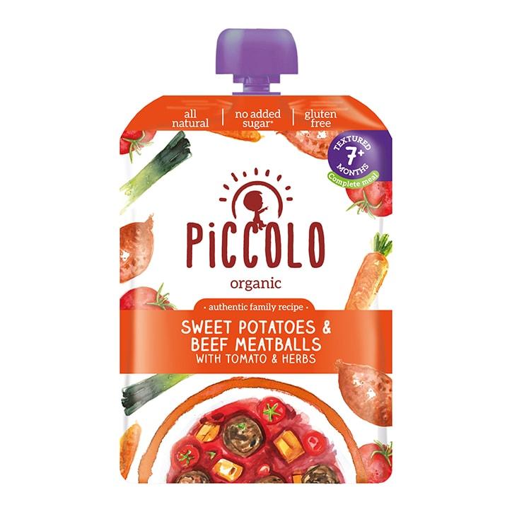 Piccolo Organic Sweet Potato with Beef Ragu 7m+ 130g