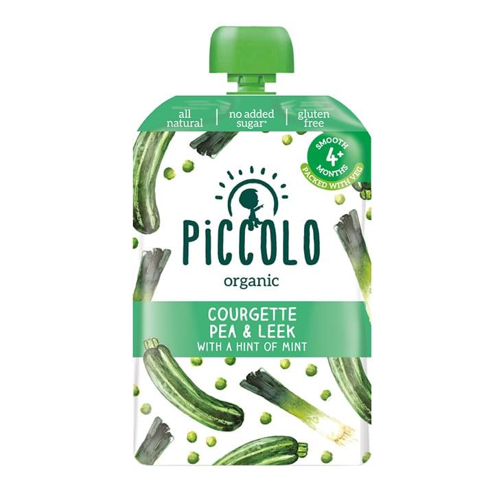 Piccolo Organic Courgette Pea & Leek 6m+ 100g