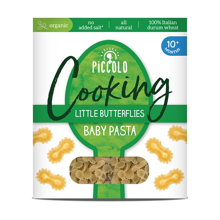 Piccolo Organic Baby Pasta Butterflies 10m+ 400g
