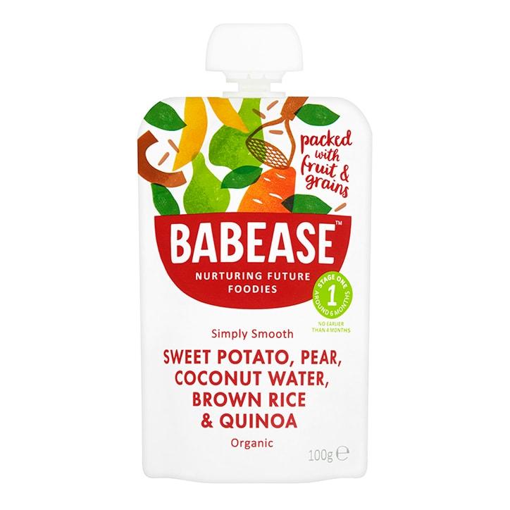 Babease Sweet Potato, Pear & Coconut Water 100g