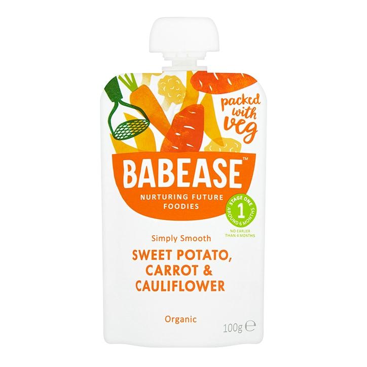 Babease Sweet Potato, Carrot & Cauliflower 100g