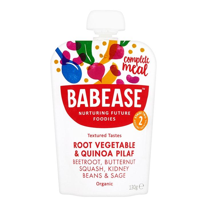 Babease Organic Root Vegetable & Quinoa Pilaf 130g