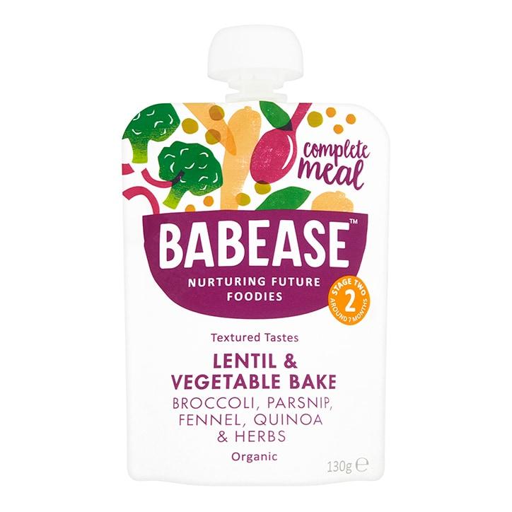 Babease Organic Lentil & Vegetable Bake 130g