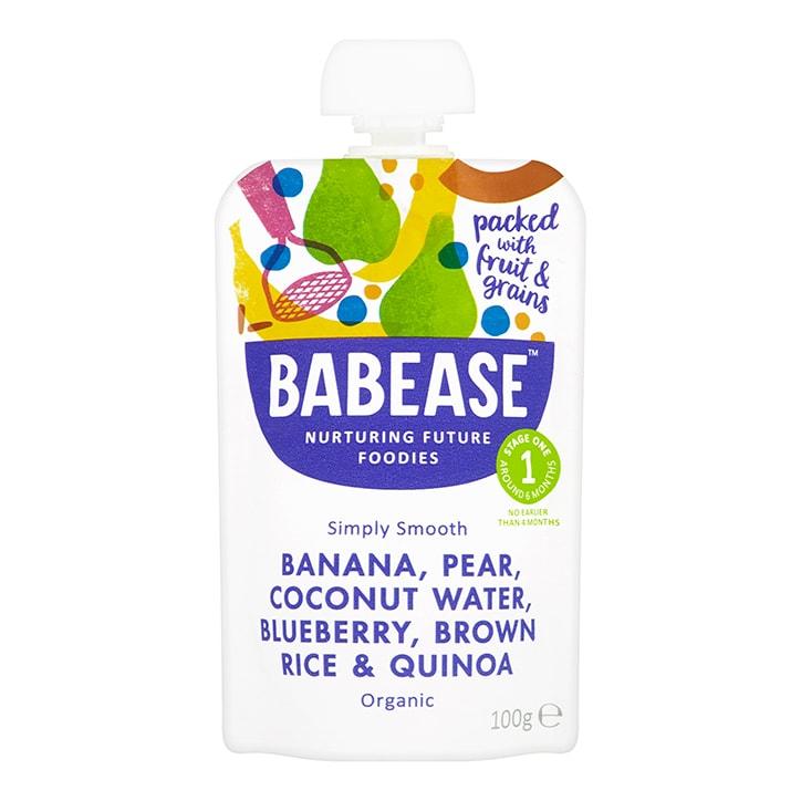 Babease Organic Banana, Pear & Coconut Water 4m+ 100g