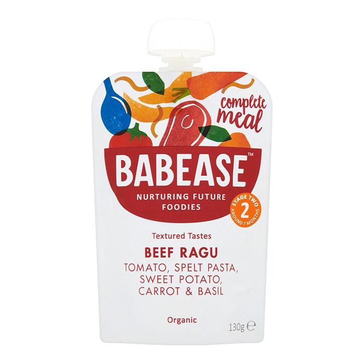 Babease Organic Beef Ragu 7m+ 130g