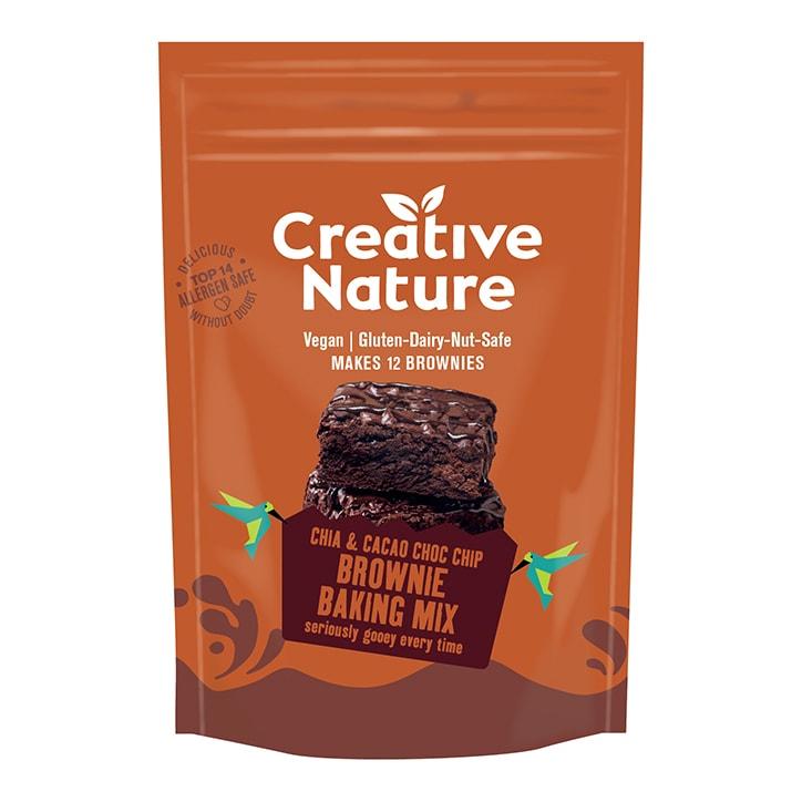 Creative Nature Chai Cacao Choc Chip Brownie Mix 250g