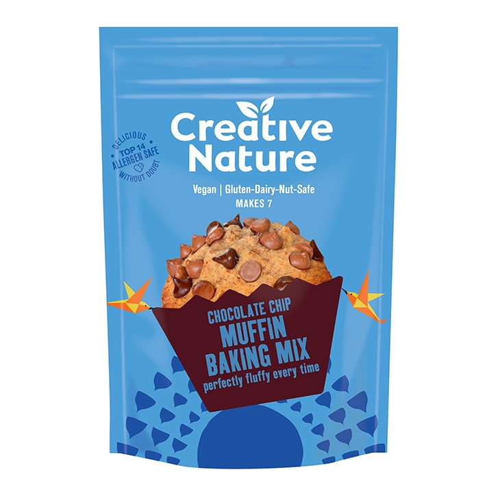 Creative Nature Choc Chip Muffin Mix 250g