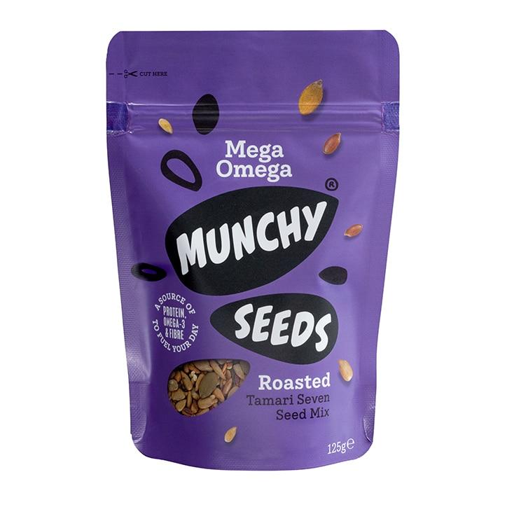 Munchy Seeds Mega Omega Pouch 125g