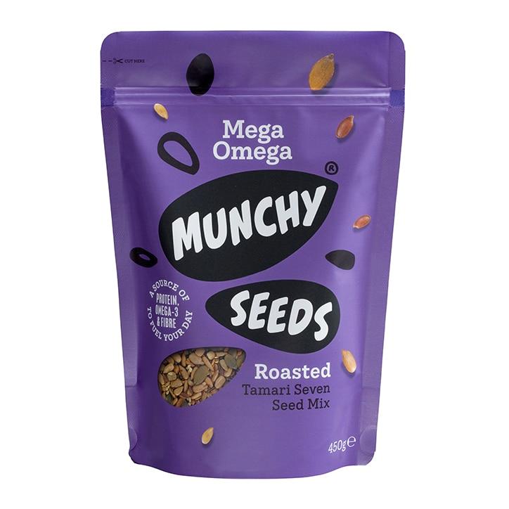 Munchy Seeds Mega Omega Pouch 450g