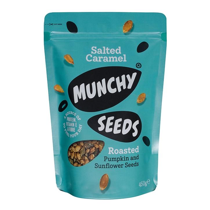 Munchy Seeds Salted Caramel Pouch 450g