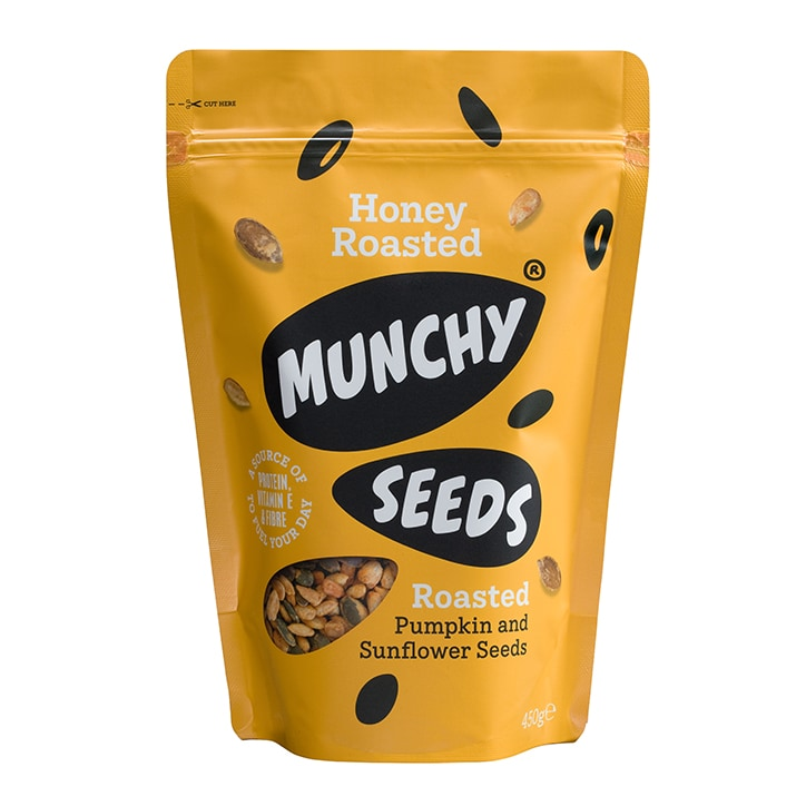 Munchy Seeds Honey Roasted Pouch 450g