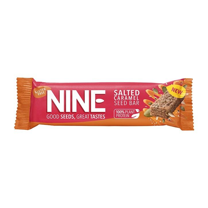 Nine Salted Caramel Bar 40g