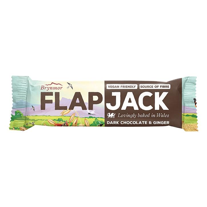 Brynmor Gluten Free Dark Chocolate Ginger Flapjack 40g