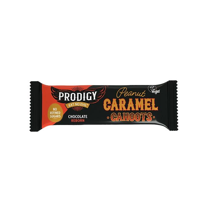 Prodigy Peanut & Caramel Cahoots Chocolate Bar 45g