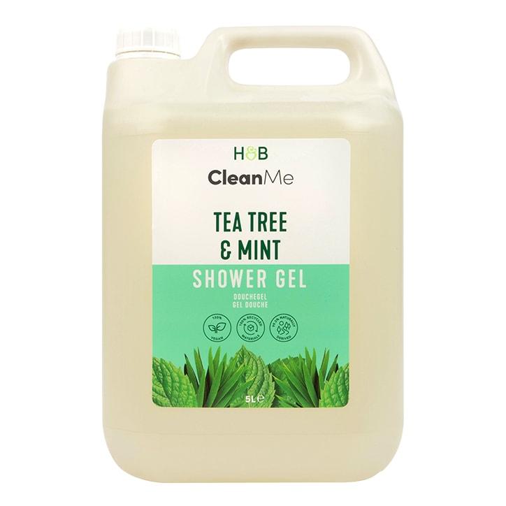 Clean Me Tea Tree & Mint Shower Gel 5L