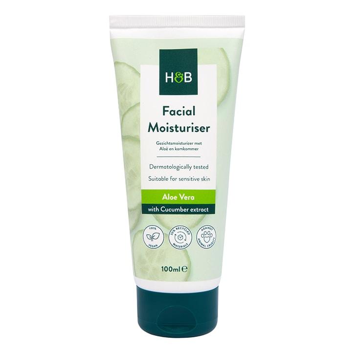 Holland & Barrett Aloe and Cucumber Facial Moisturiser
