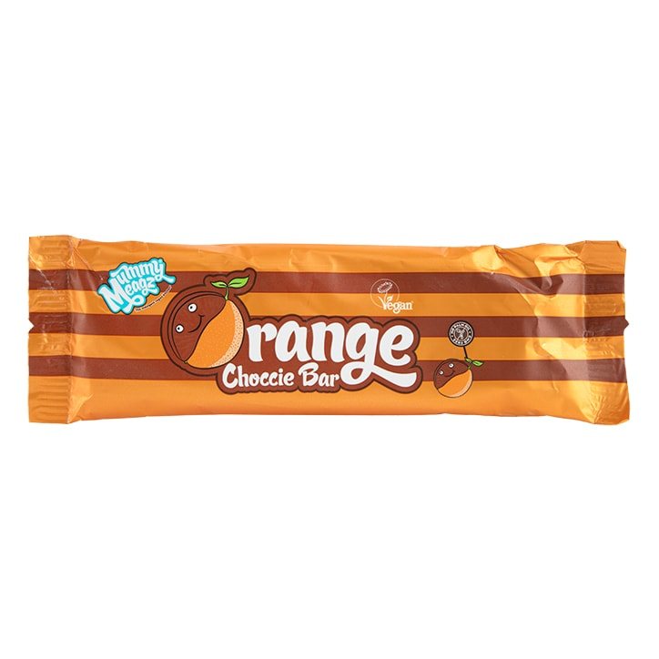 Mummy Meagz Vegan Choccie Orange Bar 40g