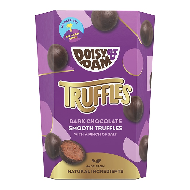 Doisy & Dam Vegan Dark Chocolate Smooth Truffles 144g
