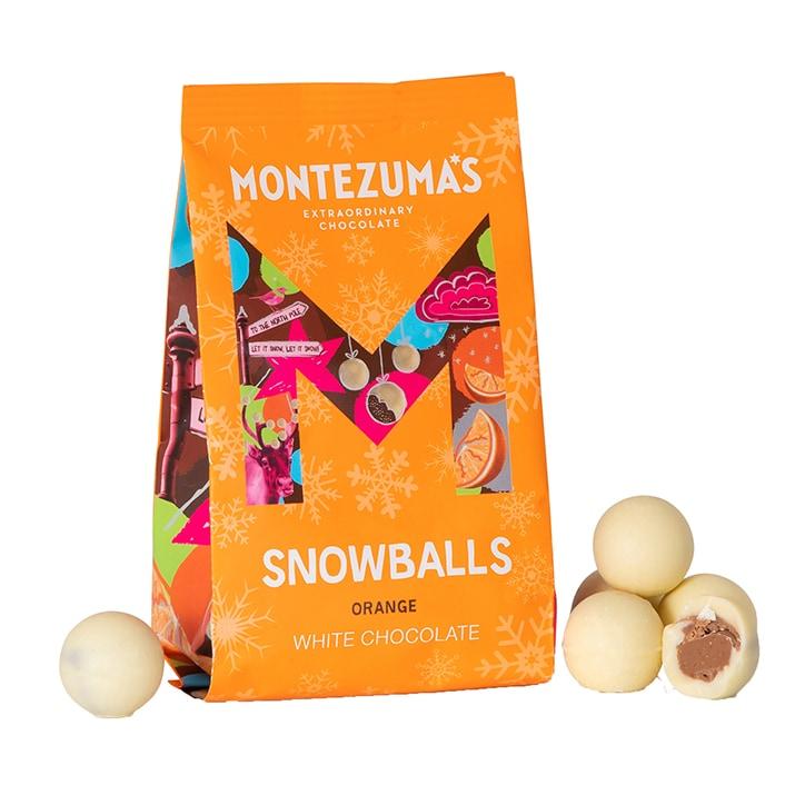 Montezuma's White Chocolate Orange Snowballs 150g