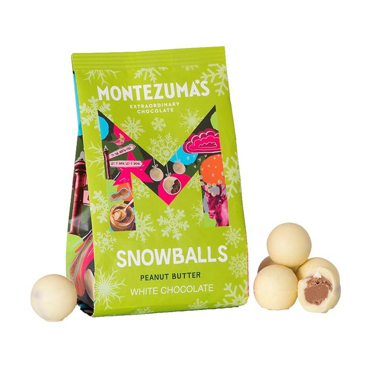 Montezuma's White Chocolate Peanut Butter Snowballs 150g