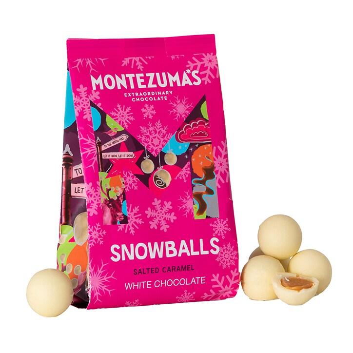 Montezuma's White Chocolate Caramel Snowballs 150g