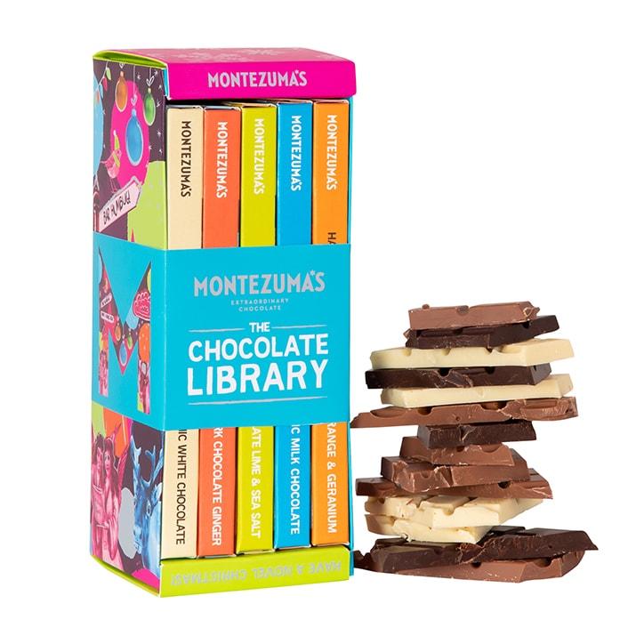 Montezuma's Christmas Chocolate Bar Library 450g