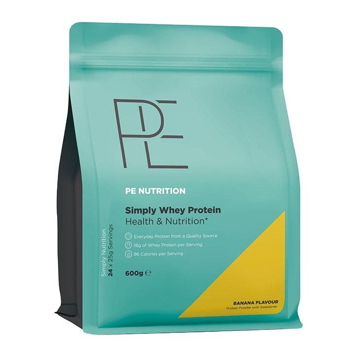 PE Nutrition Simply Whey Banana 600g