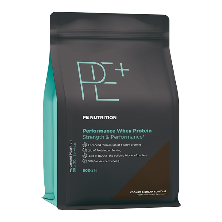 PE Nutrition Performance Whey Cookies & Cream 900g