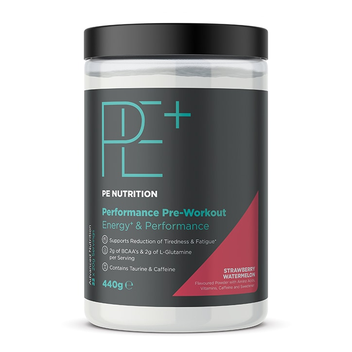 PE Nutrition Performance Pre-Workout Strawberry & Watermelon 440g