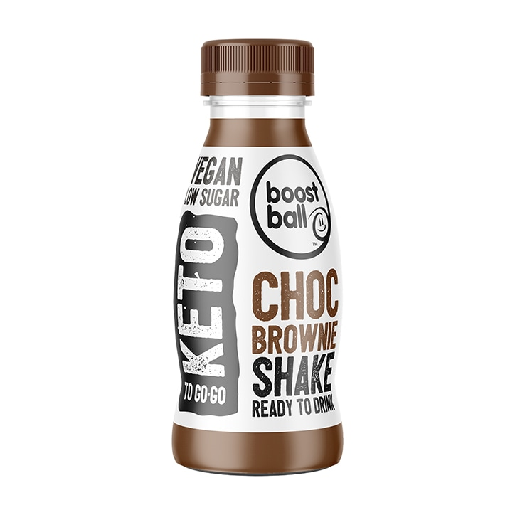 Boost Ball Keto Chocolate Brownie Shake 330ml